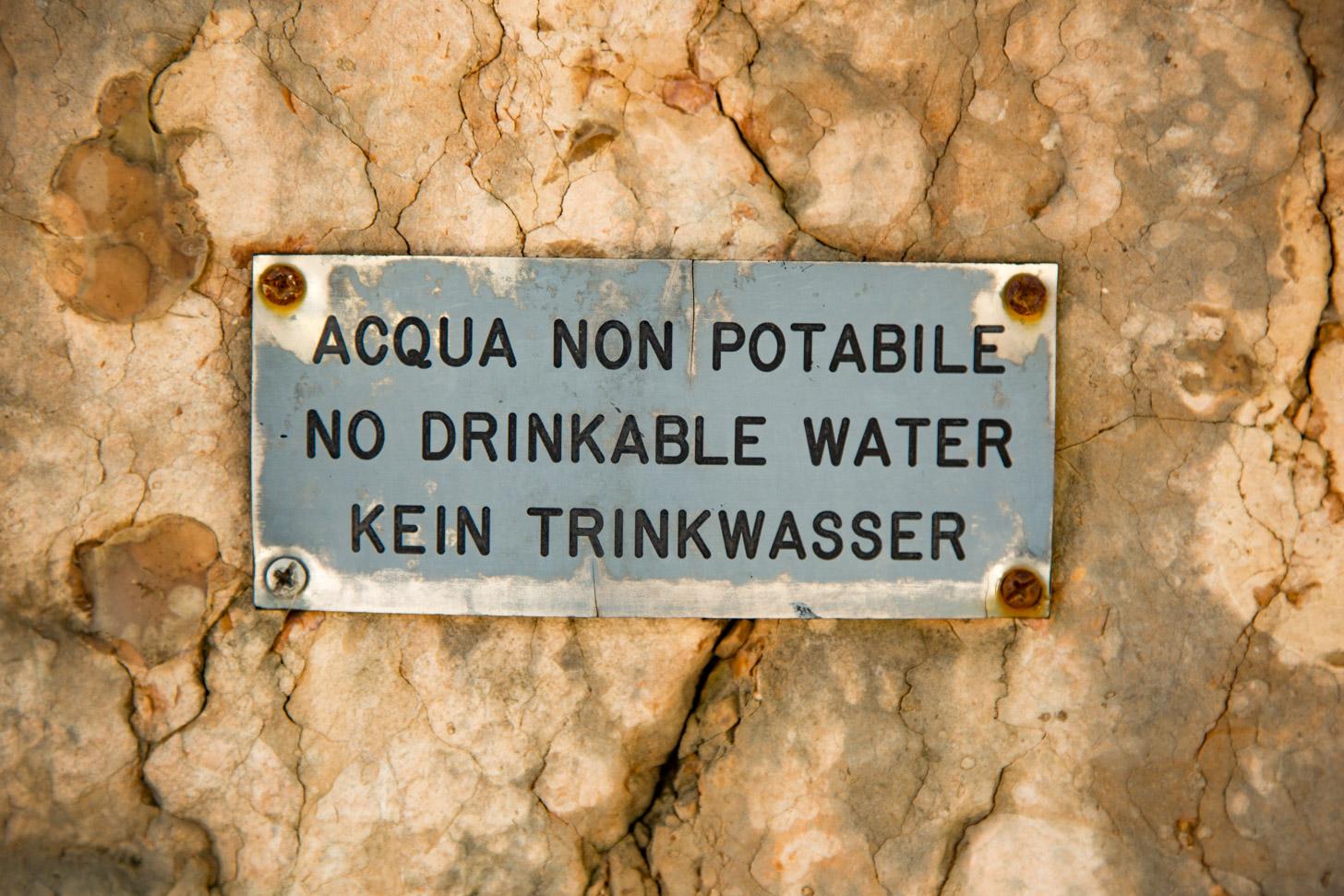 Drinkwater aan het Gardameer
