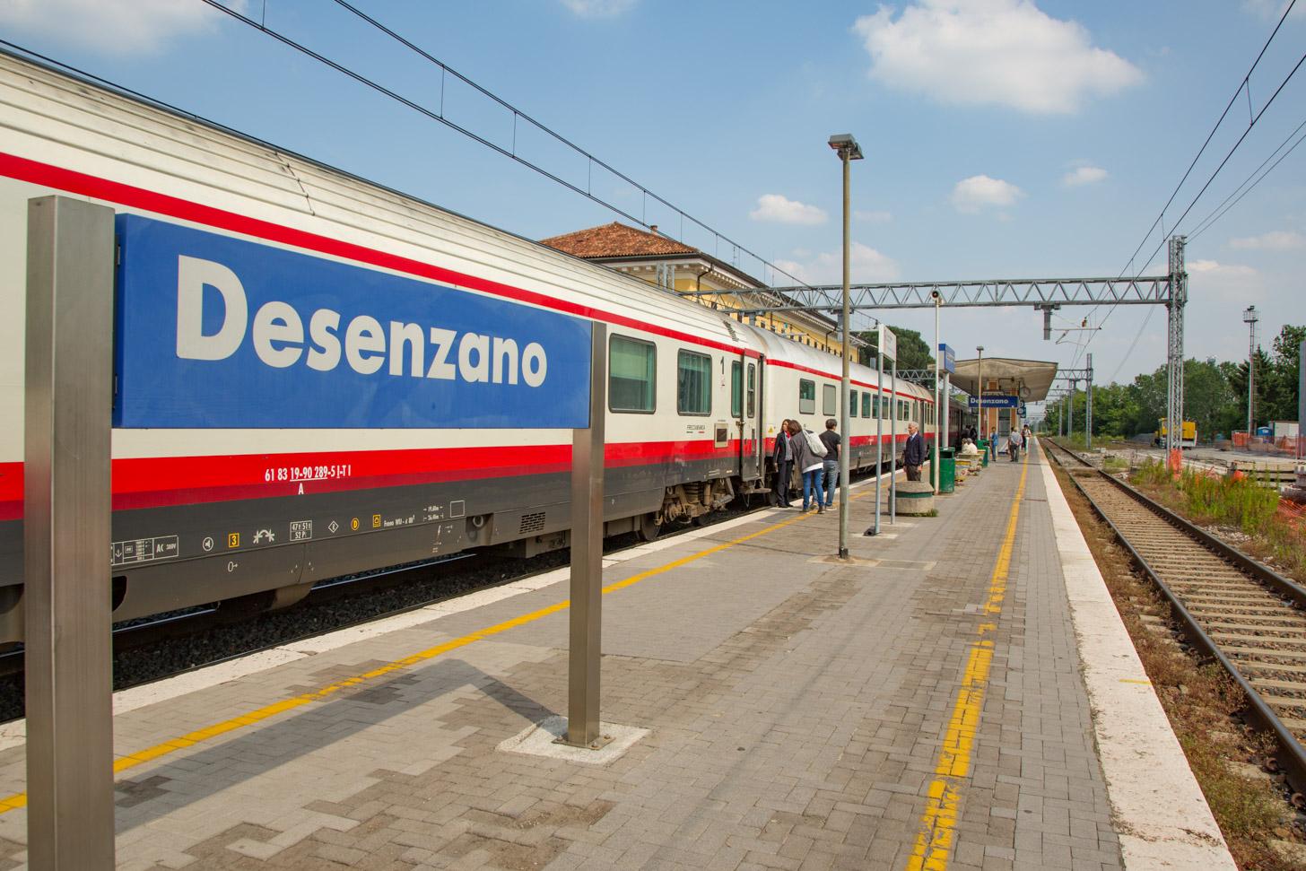 Met de trein naar het Gardameer reizen
