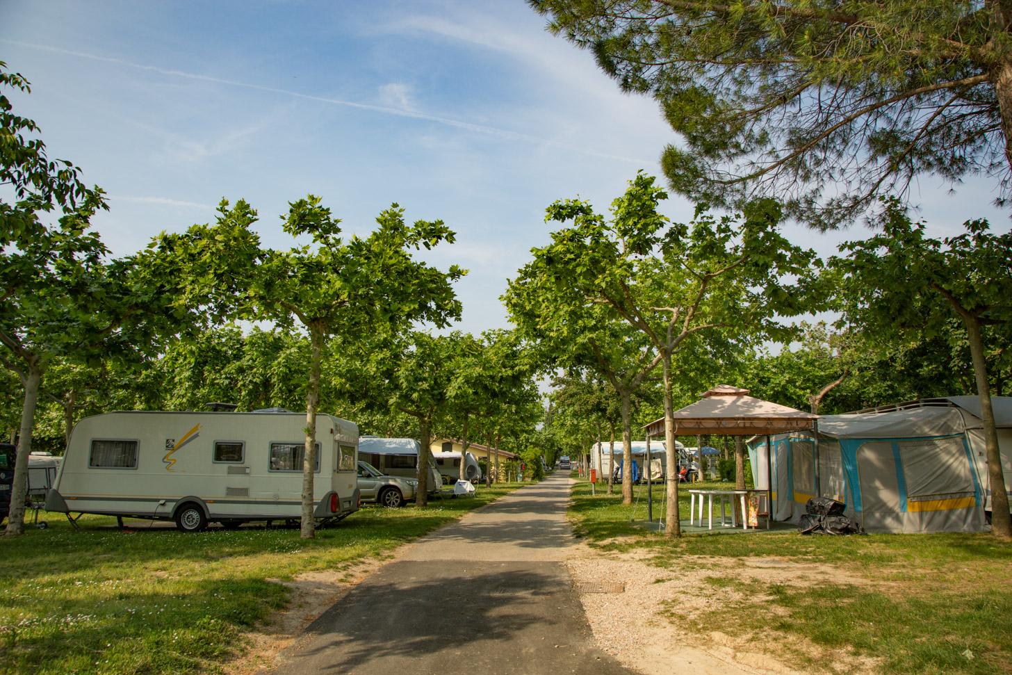 Camping aan het Gardameer